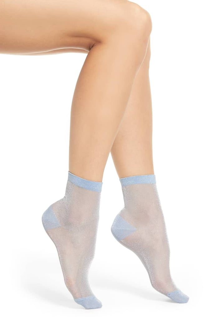 Shimmer Ankle Socks