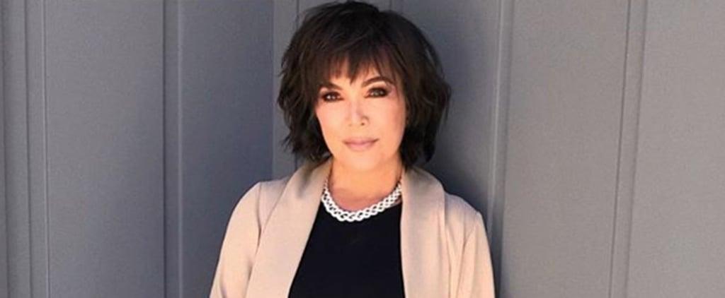 Kris Jenner Hair February 2019