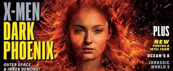 Sophie Turner Is on Fire (No, Literally) in the First Look at X-Men: Dark Phoenix
