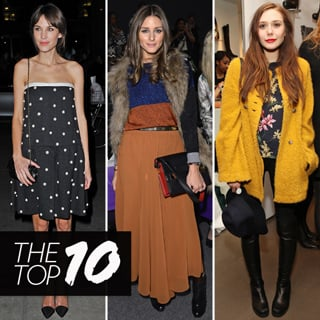 Best Dressed Celebrity: Olivia Palermo, Alexa Chung, Beyonce
