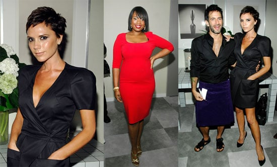 Posh Celebrates Jennifer Hudson and Talks Haircuts