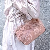 Loeffler Randall Maisie Feather Clutch