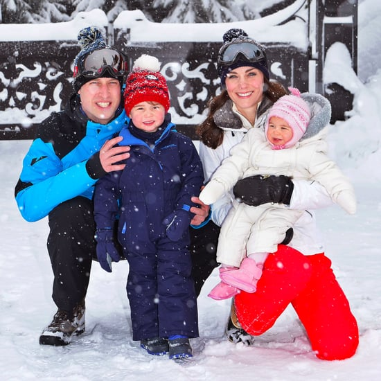 British Royals Ski Vacation Pictures 2016