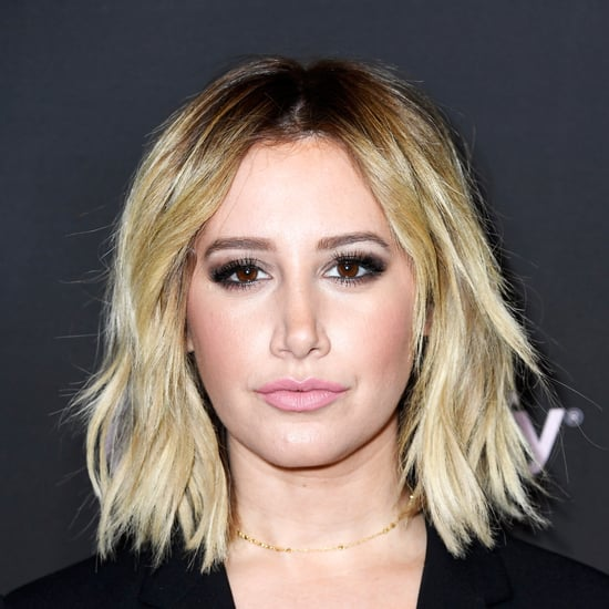Ashley Tisdale's Strawberry Blond Hair April 2019