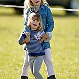 Savannah Phillips and Mia Tindall