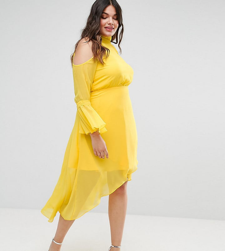 Truly You Cold Shoulder Dress