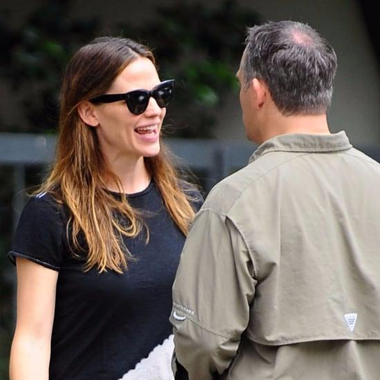 Jennifer Garner Talking to People at Her Church June 2016