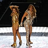 See All of Jennifer Lopez's Super Bowl Halftime Show Outfits