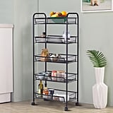 Costway Storage Rack Trolley Cart