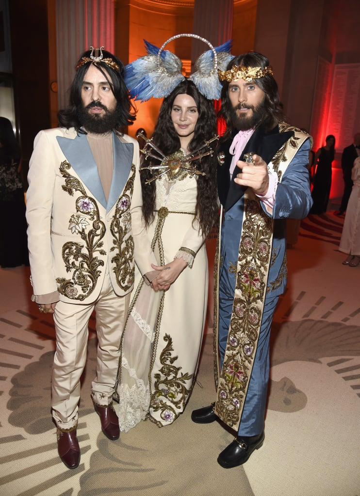 Jared Leto At The 2018 Met Gala Popsugar Celebrity
