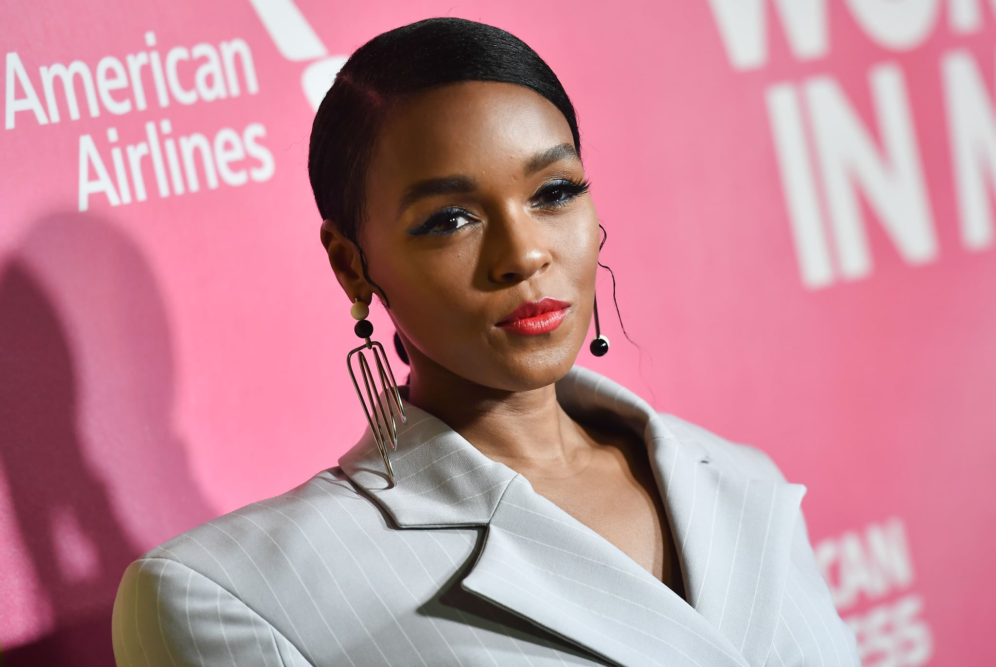 US singer/actress Janelle Monae attends Billboard's 13th Annual Women In Music event at Pier 36 in New York City on on December 6, 2018. (Photo by Angela Weiss / AFP)        (Photo credit should read ANGELA WEISS/AFP/Getty Images)