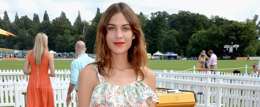 Alexa Chung Has a Straight-Forward Answer to Getting Her Style on the Fly