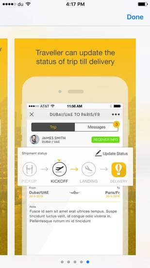 This Genius App Brings Back Deliveries From Abroad