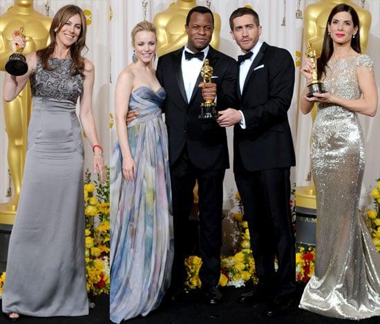 Photos From Oscar Press Room