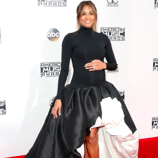 Ciara's Dress at the American Music Awards 2016