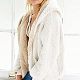 Urban Outfitters Ecote Fuzzy Reversible Jacket ($89)