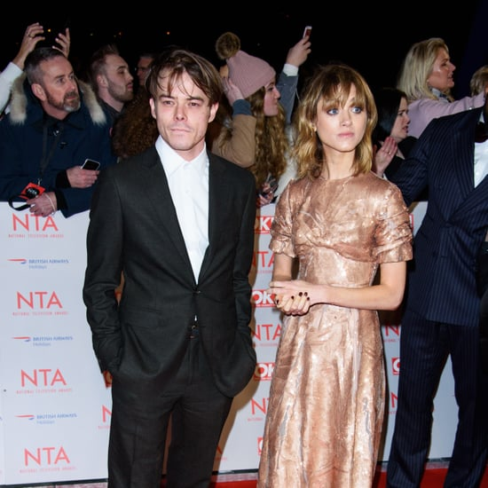 Charlie Heaton and Natalia Dyer at the NTA Awards 2018