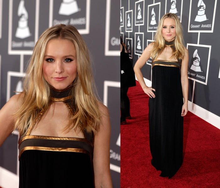 Kristen Bell at 2010 Grammy Awards 2010-01-31 18:52:54