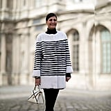 Giovanna Battaglia at Fashion Week Fall 2016