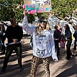 Women's March Kesha