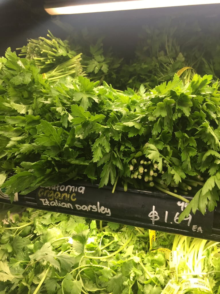 Best Whole Foods Product: Organic Italian Parsley ($2)