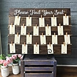 Wooden Guest Seating Chart Frame