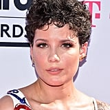 Halsey With Curly Hair