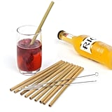 Bamboo Straws, Set of 10