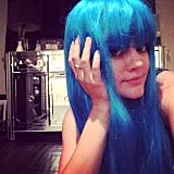 """Lucy Hale previewed her """"very blue costume."""""""