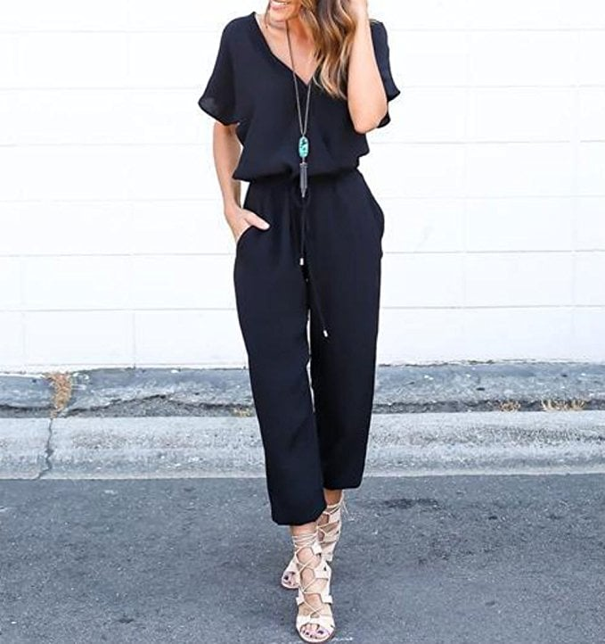 Ayiyo V-Neck Jumpsuit