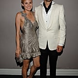 Diane Kruger and Joshua Jackson looked stunning together at a Met Gala afterparty in NYC in May 2008.
