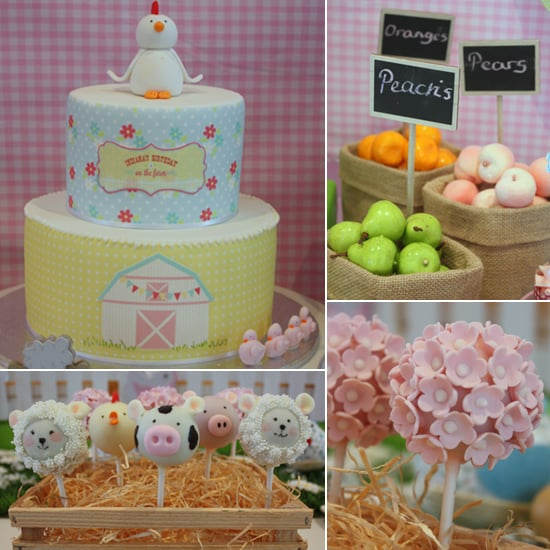 A Sweet Barnyard Birthday Party