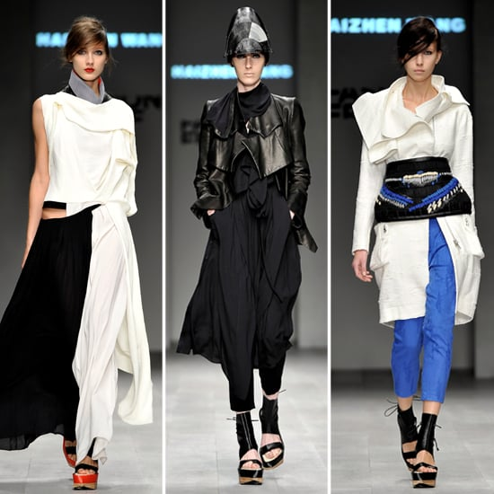 Fashion Fringe 2012 Winner Haizhen Wang London Fashion Week