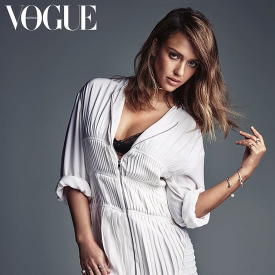 Jessica Alba in Vogue Australia February 2016