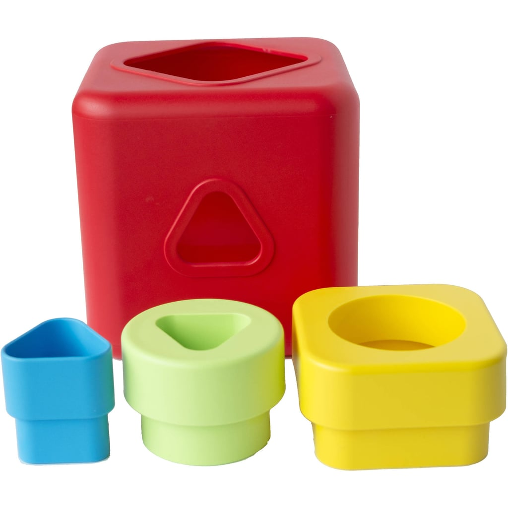 Bioserie Shape Sorting and Stacking Cubes