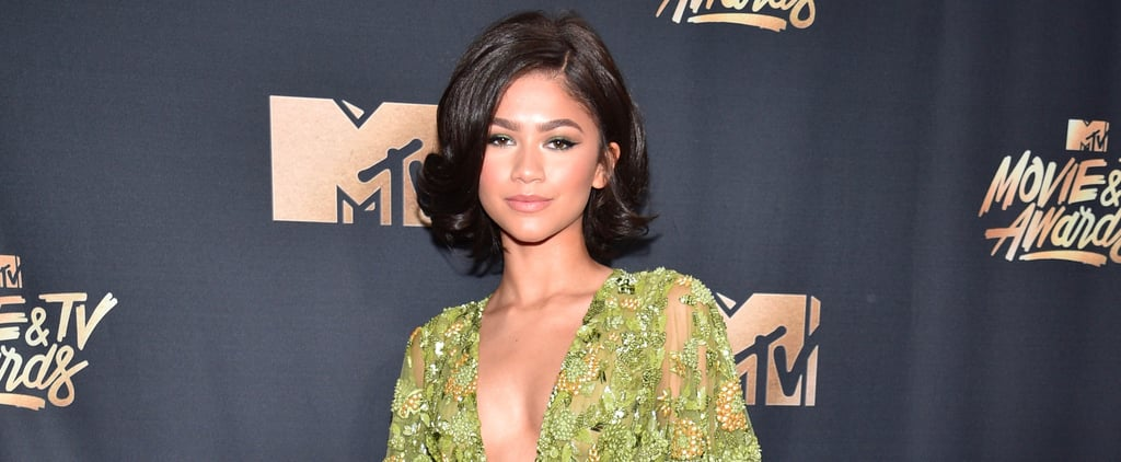 Zendaya Channels Jackie O With Her Chic Hair at the MTV Movie Awards