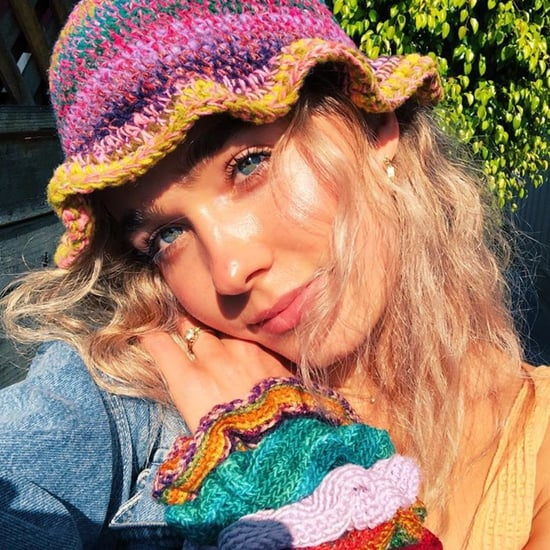 Haley Lu Richardson Makes Crochet Bucket Hats and Scrunchies