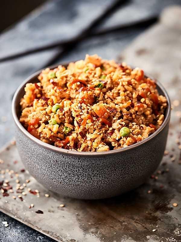 Ground Turkey Fried Rice