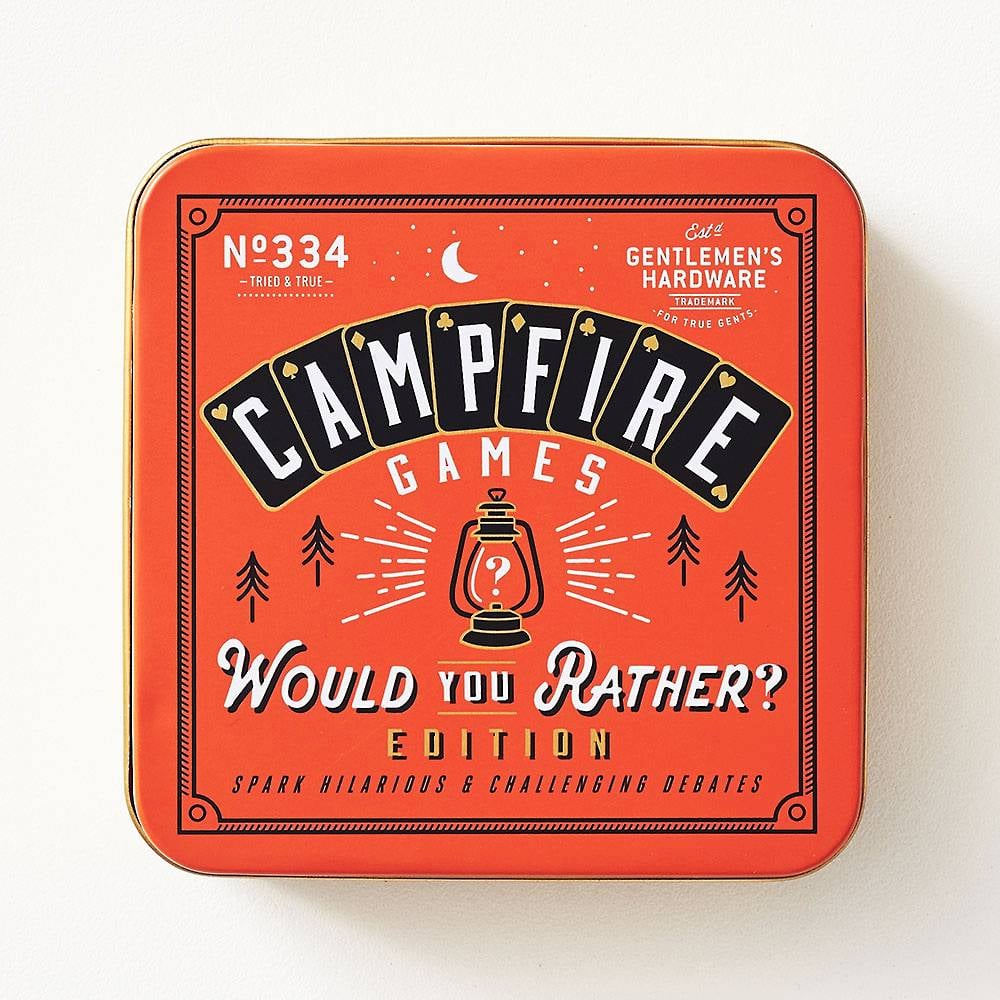 Would You Rather Campfire Game