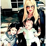 Rachel Zoe celebrated Mother's Day with her sweet boys, Skyler and Kaius Berman. Source: Instagram user rachelzoe