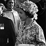 الملكة البريطانيّة في مالطا عام 1967.
