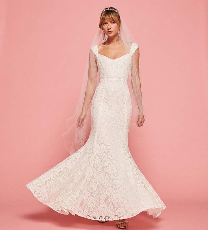 Best Wedding Dresses Under $500   POPSUGAR Fashion