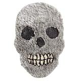 Skull-Shaped Shag Rug