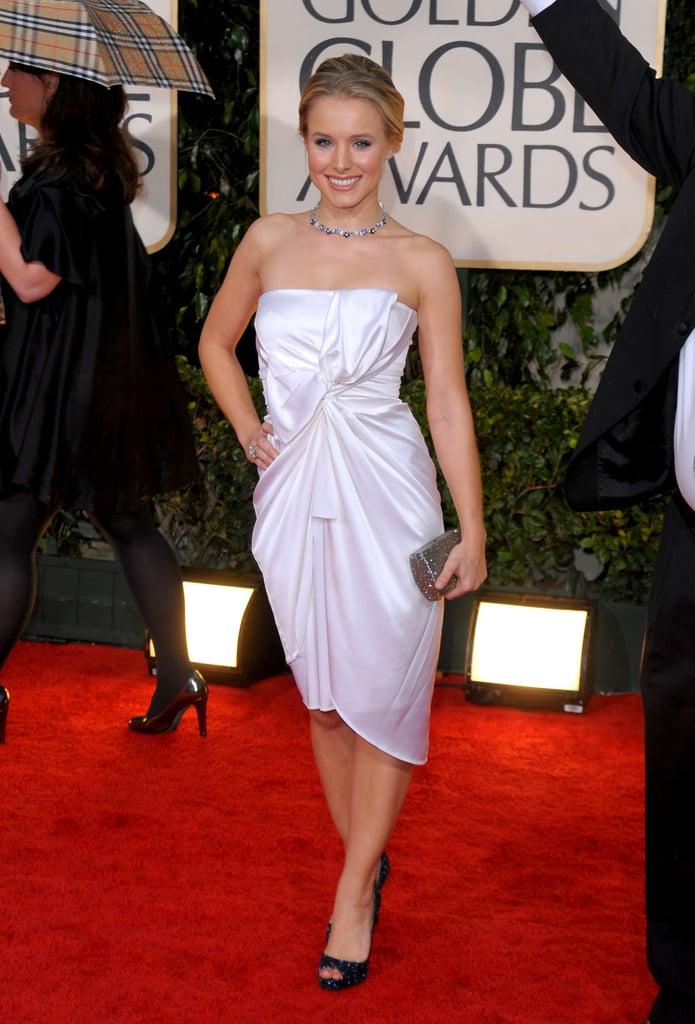 Kristen Bell, Amy Adams, and Ginnifer Goodwin at 2010 Golden Globe Awards