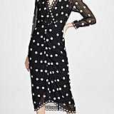 Rebecca Taylor Dot Embroidered Dress