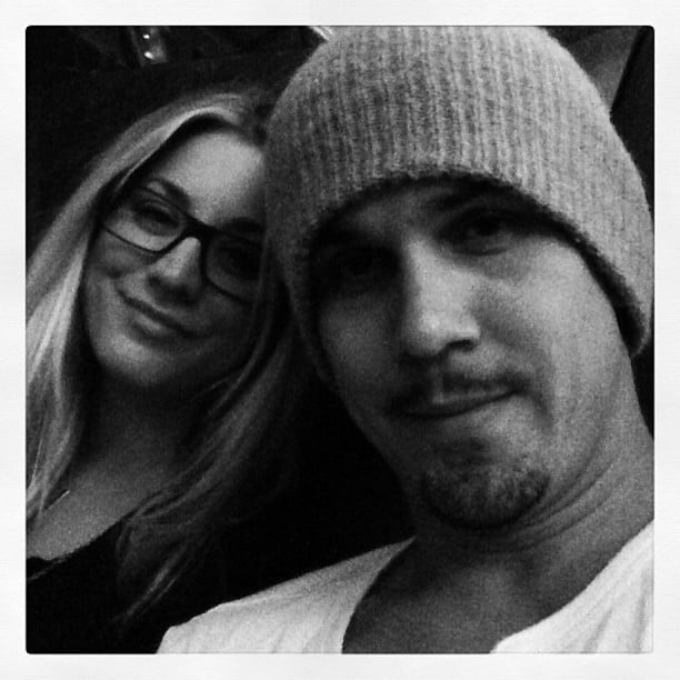 Ryan posted this photo while he and Kaley were on their way to NYC.  Source: Instagram user Ryan Sweeting