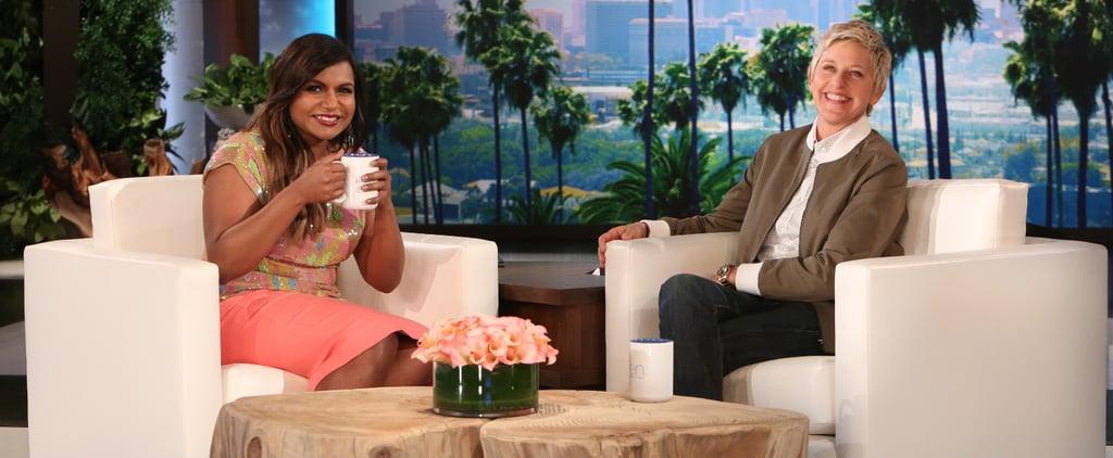Mindy Kaling on The Ellen DeGeneres Show | March 11, 2015