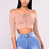 Fashion Nova Just a Glimpse of Me Top