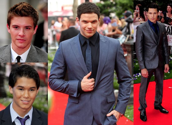 Pictures of Kellan, Alex, Xavier and Booboo at Eclipse London Premiere