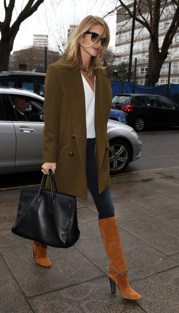 How to Wear Jeans: Rosie Huntington-Whiteley